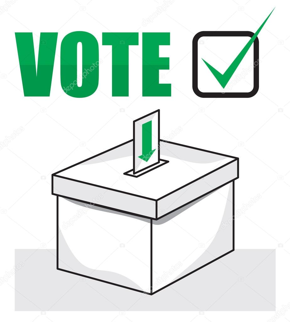 election clipart ballot box