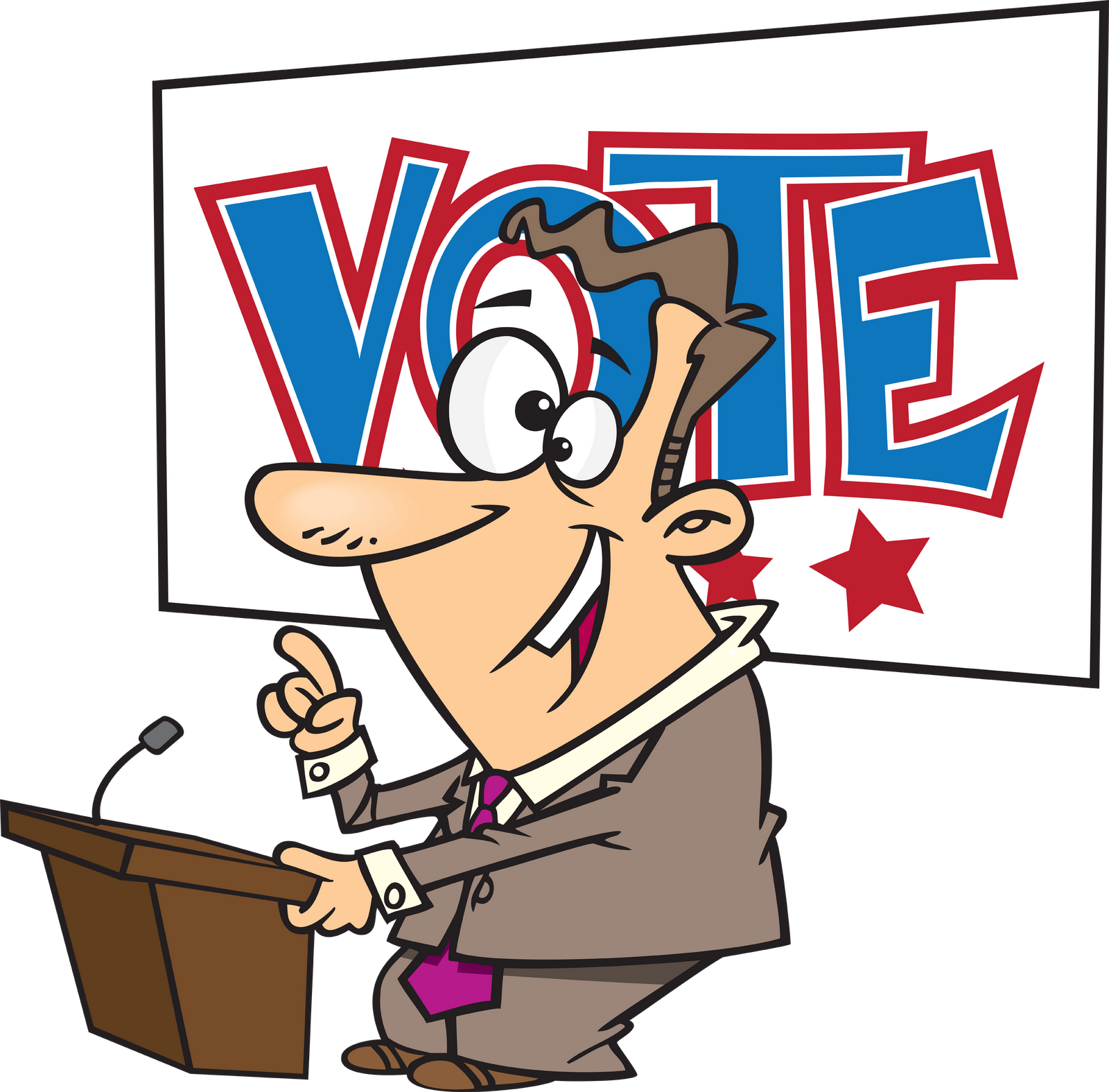 Presidents clipart. Corkboard connections presidential election