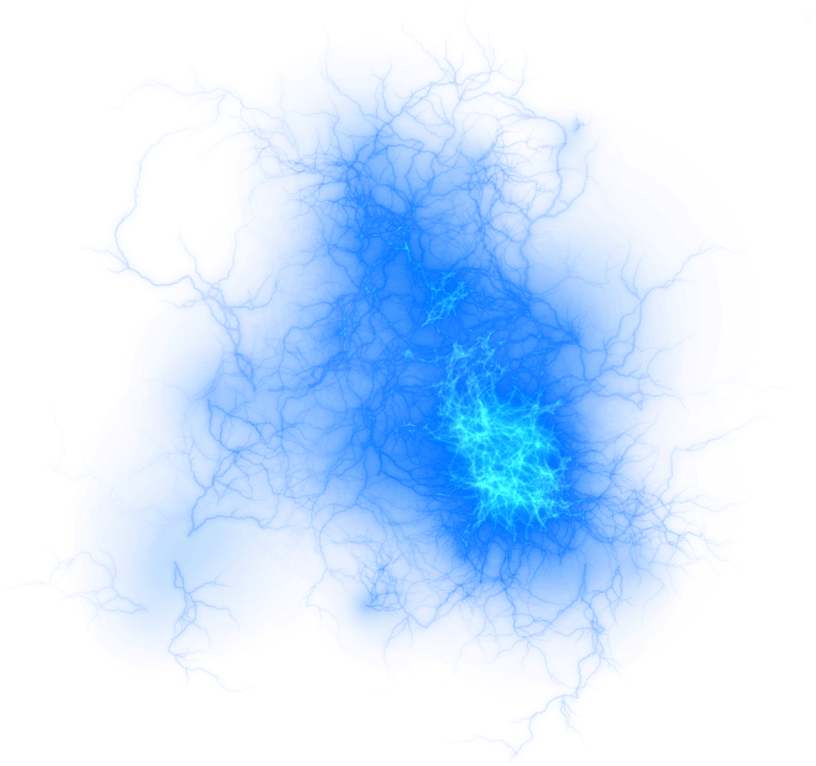 Electric ball png. Blue fire transparent stickpng