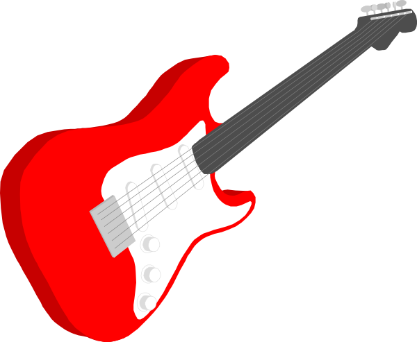 Guitar clipart heart. Free electric cartoon download