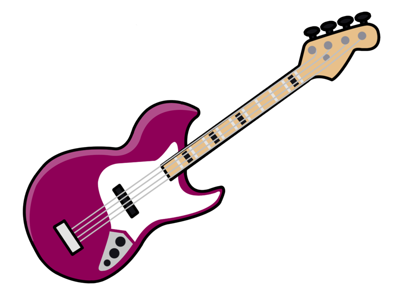 Guitar clipart cool guitar. Cartoon