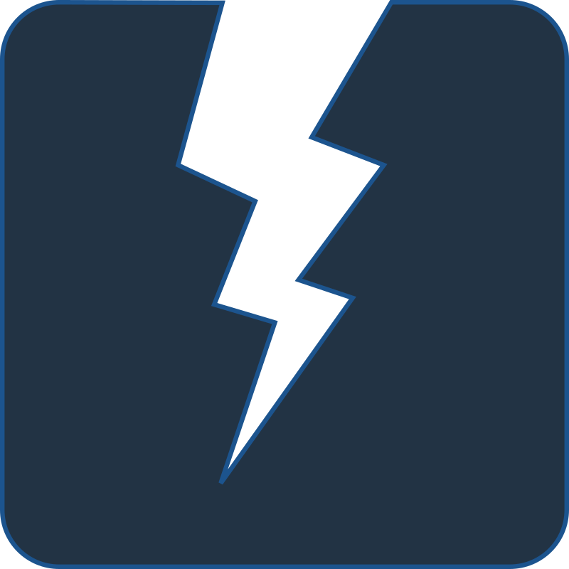 Electric clipart power source. Icon medium image png
