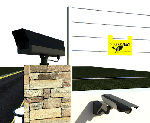 Matic systems digital cctv. Electric fence png clip art free stock
