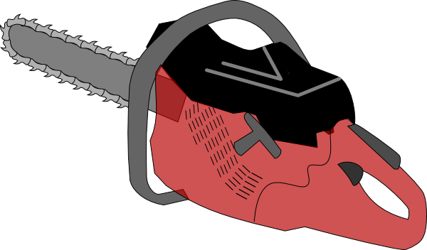 Chainsaw gas clip art. Electric saw png black and white download