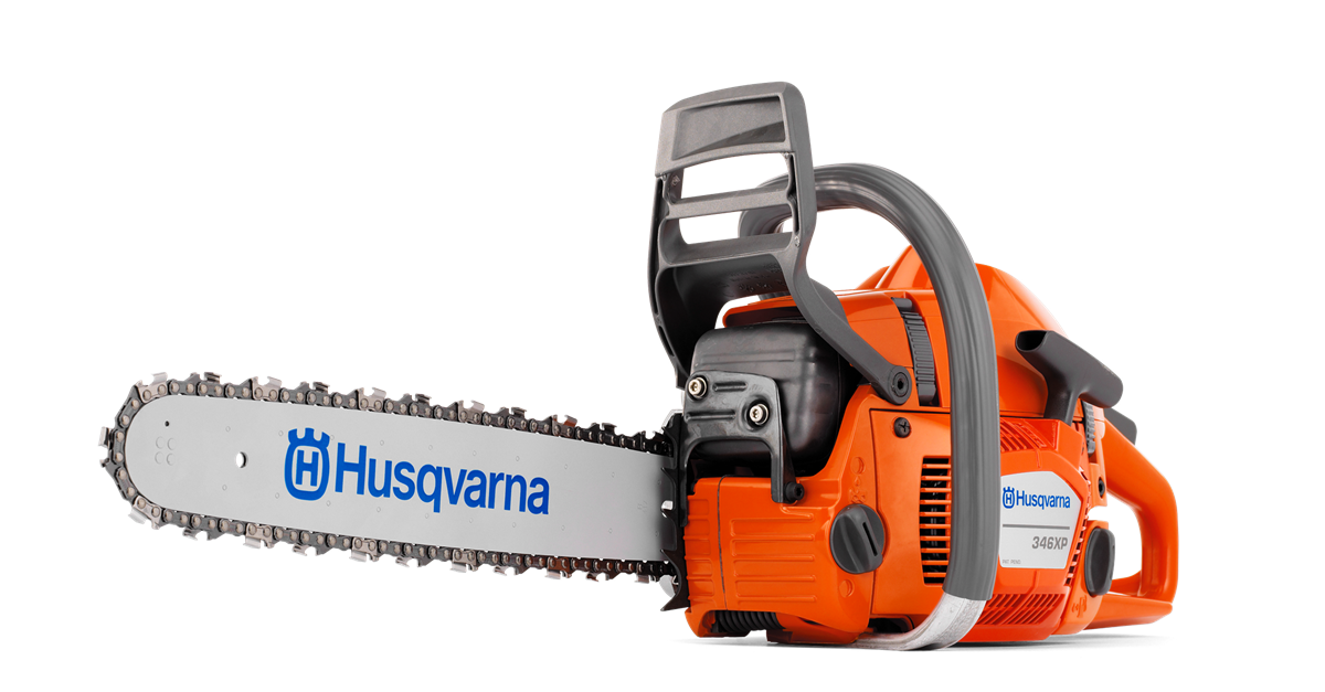 Husqvarna chainsaws xp . Electric saw png banner free stock