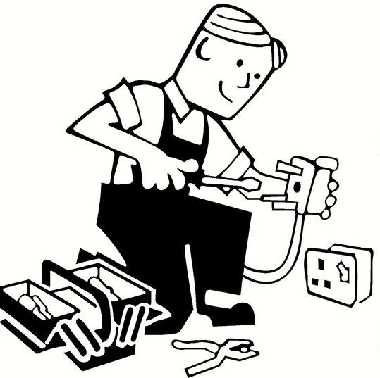 electrical clipart electrical service