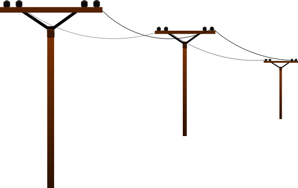 Electricity clipart electric tower. Electrical power lines