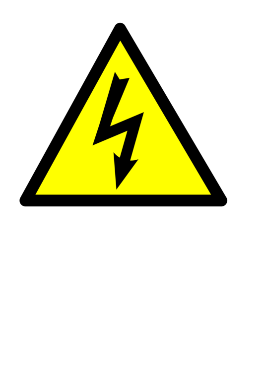 Electric clipart electricity. High voltage potential difference