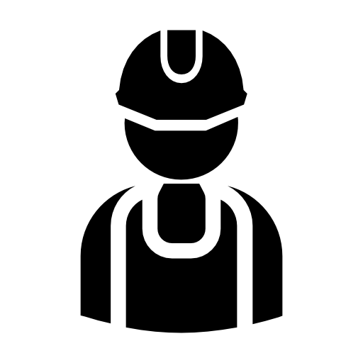 Carpenter vector work silhouette. Handy man worker icons