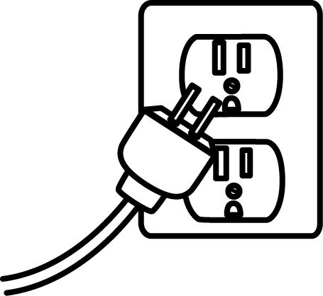 Vector Power Electric Outlet Transparent Clipart Free Download