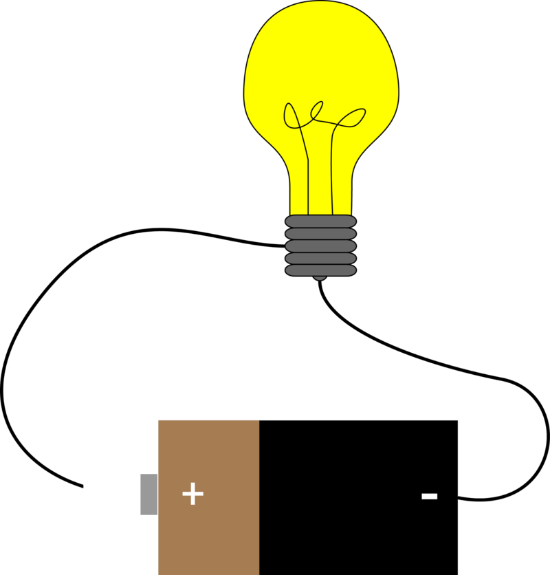 Electricity clipart closed circuit. Read physics ck foundation