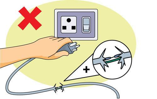 electricity clipart electric accident