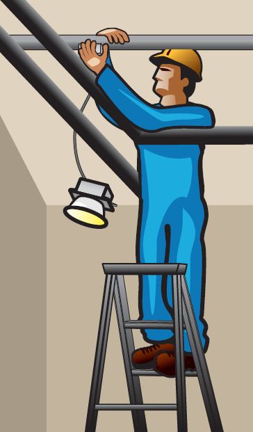 Electricity clipart electric accident. Work on live fixture