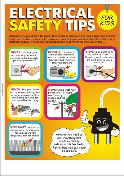Electricity clipart electric accident. Electrical safety tips for
