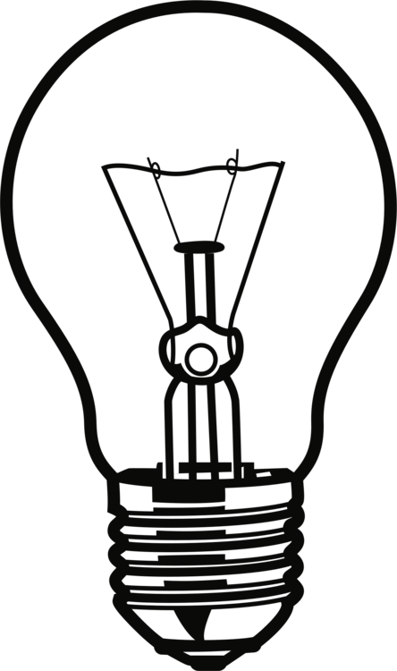 Spiral clipart light bulb. Incandescent lamp white electric