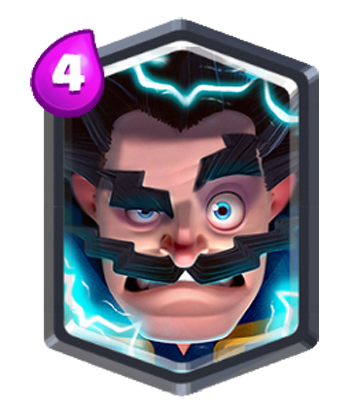 Electro wizard png. Legendary troops clash royale
