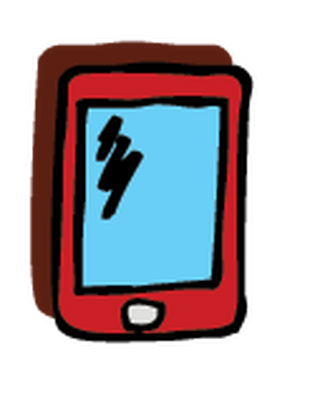 Electronics clipart. Cell phone the arts