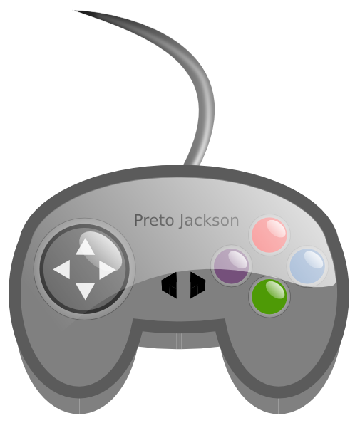 Games clipart video. Game controller clip art