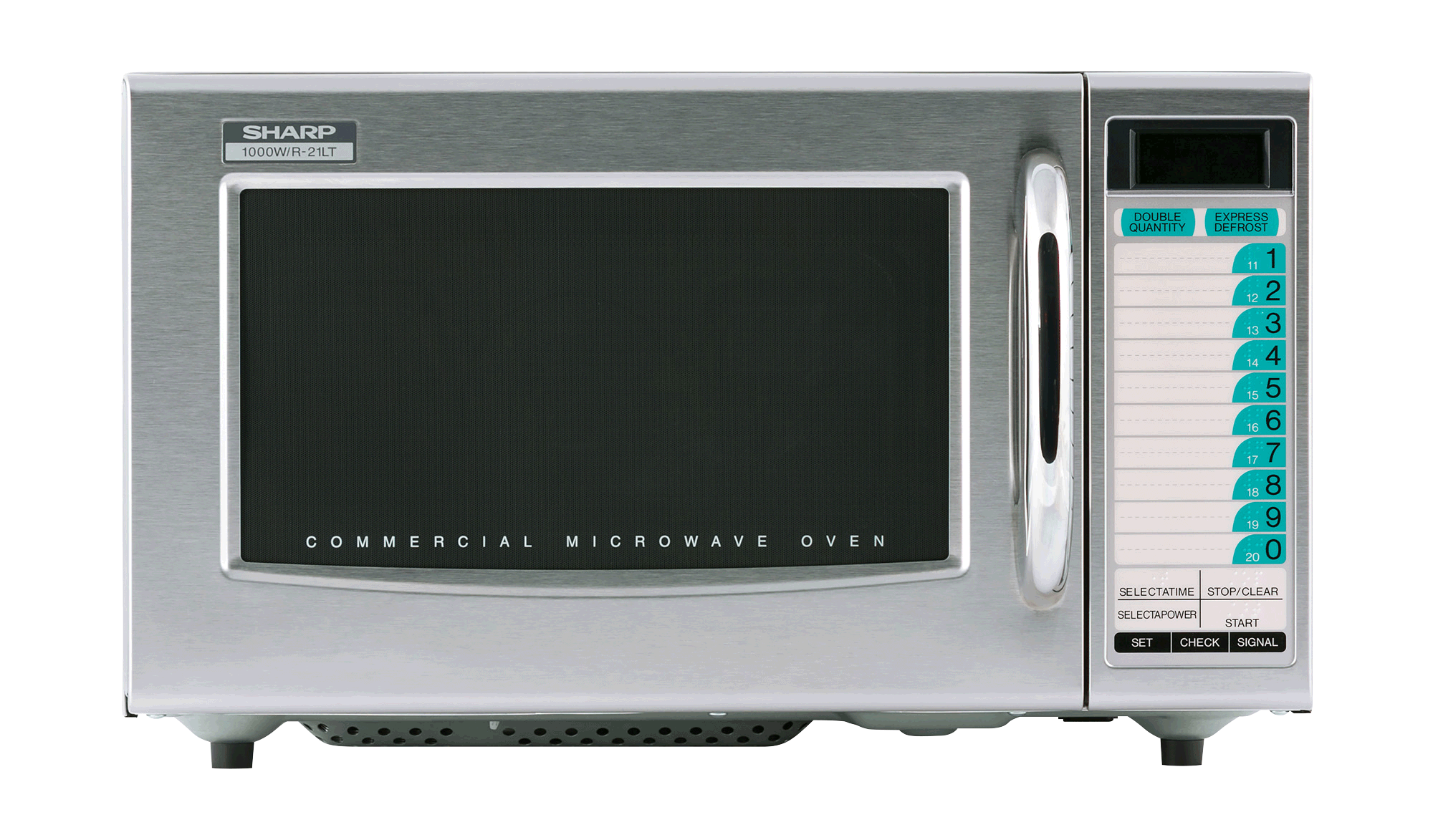 Electronics drawing home appliance. R ltf commercial microwave