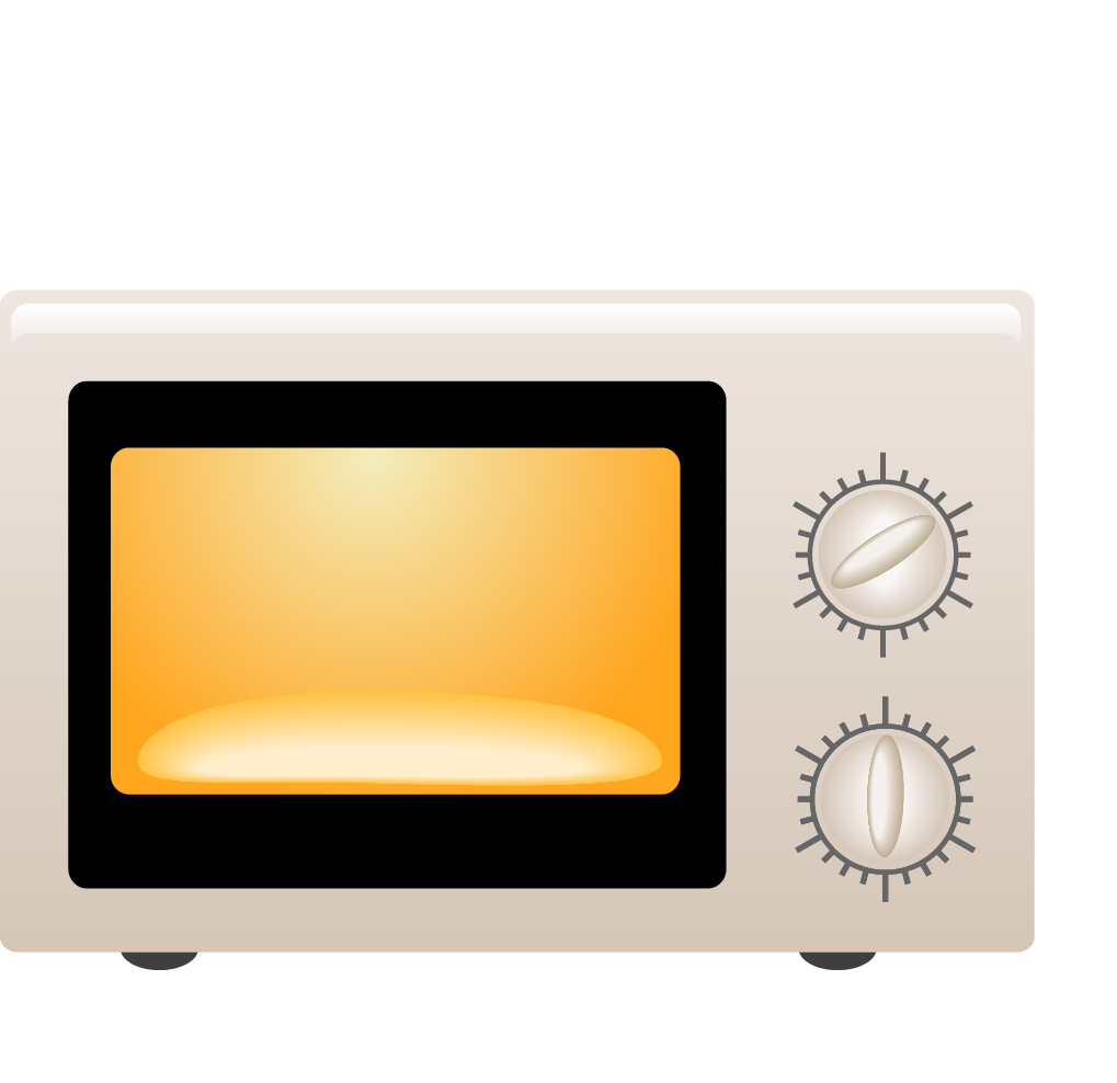 Microwave oven cartoon. Electronics drawing home appliance clip library library