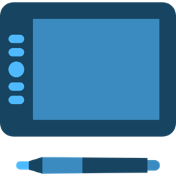 Electronics drawing pencil. Miscellaneous writing touch screen