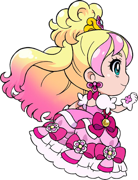 Chibis drawing princess. Image go pretty cure