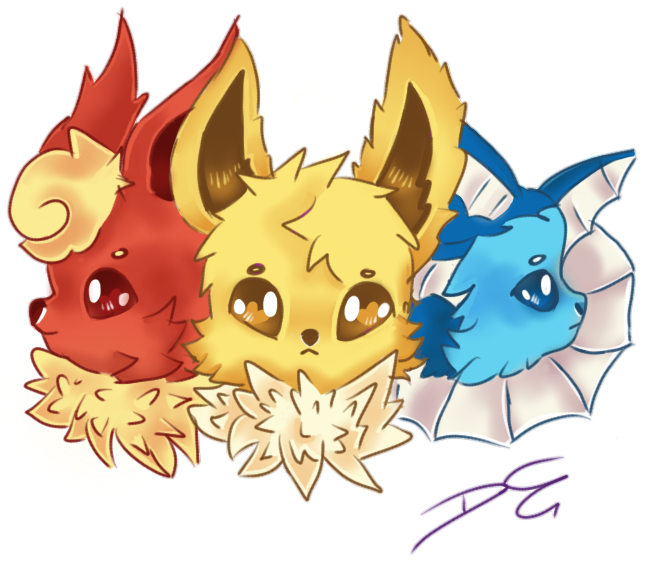 Elements drawing adorable. The by noodlekitsune on
