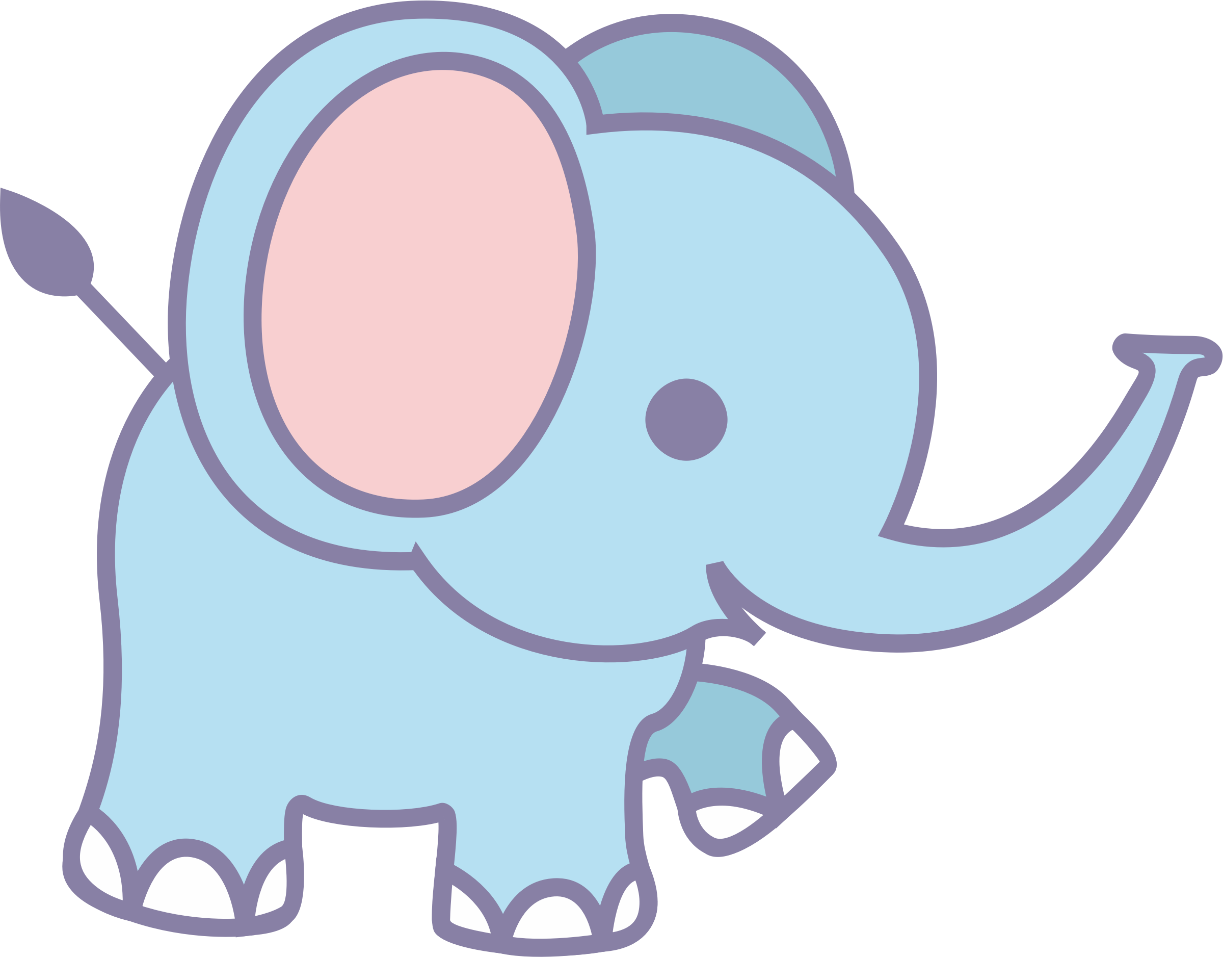 Elephant cartoon png. Cute icons free and
