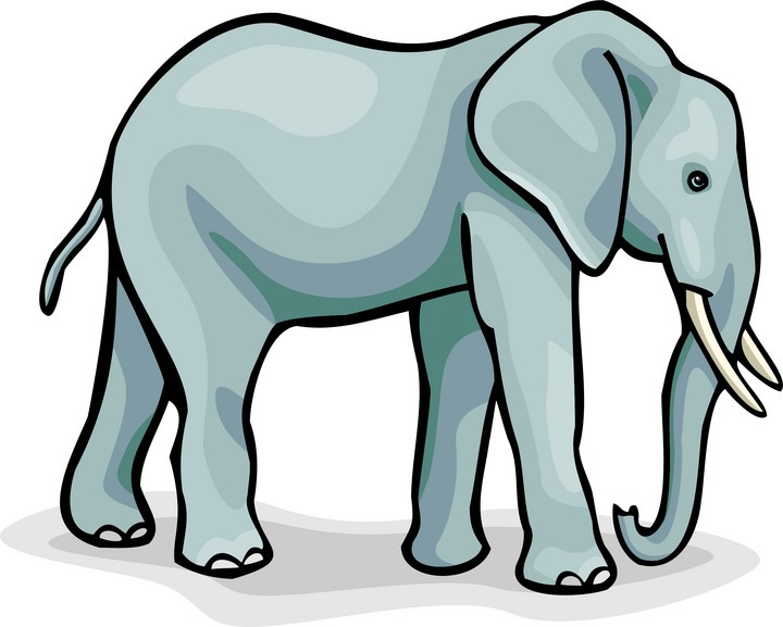 Free clipart . Elephant clip art picture library download