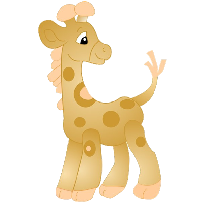 Elephant clip art giraffe. Images cartoon giraffes