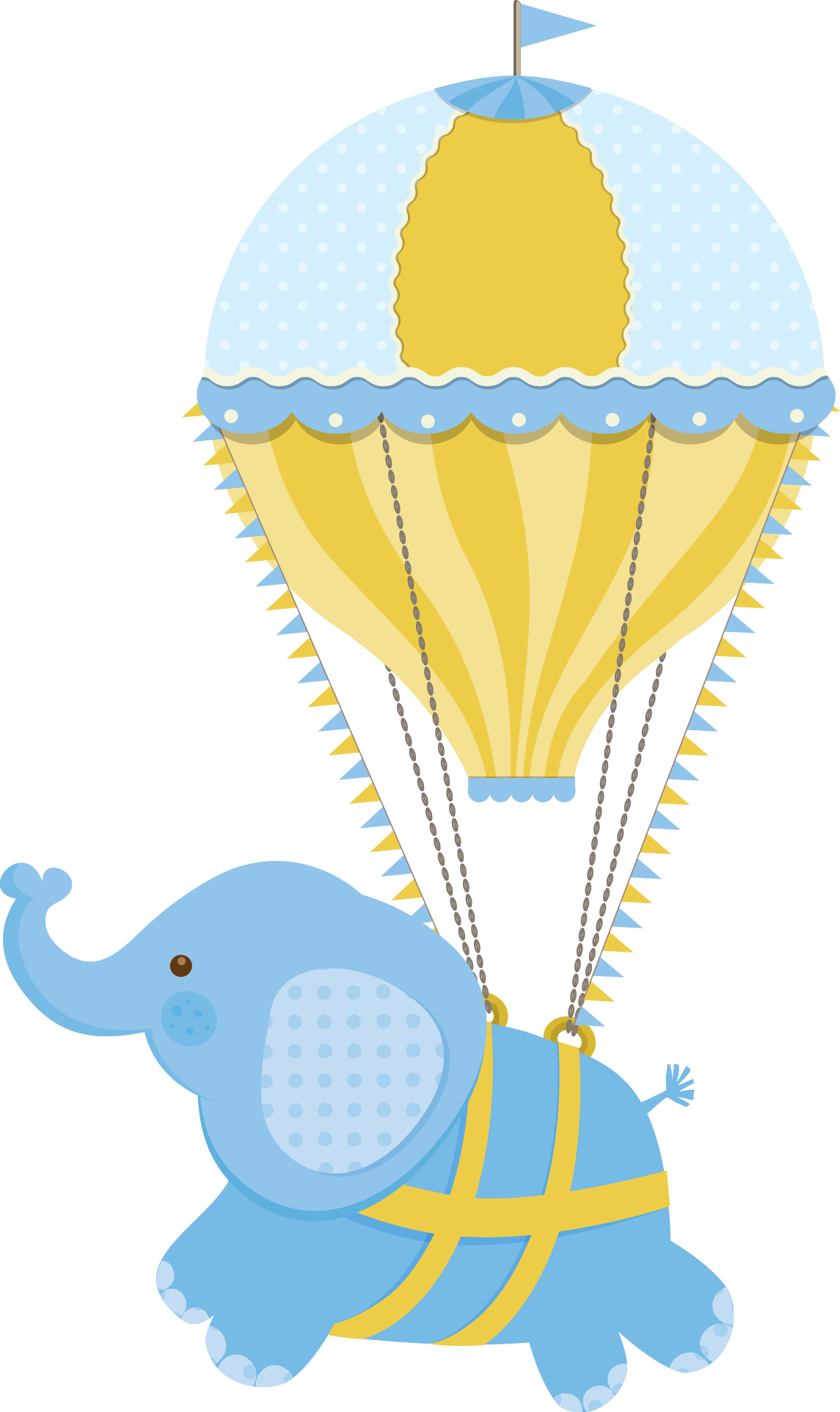 Elephant clip art hot air balloon. Pinterest baby and