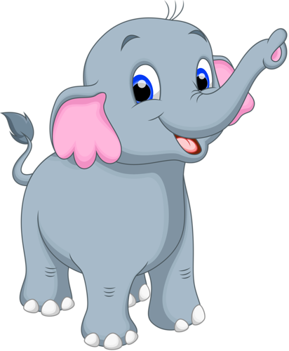 Elephant clip art png. Cartoon vector