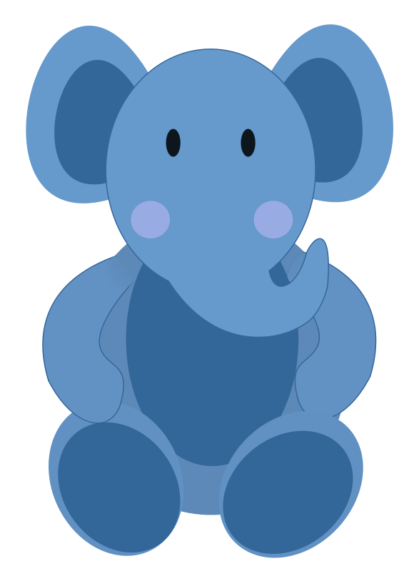 Elephant clipart monogram. Baby transparent background png