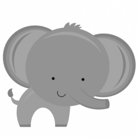 Elephant clip art transparent background. Png images pictures photos