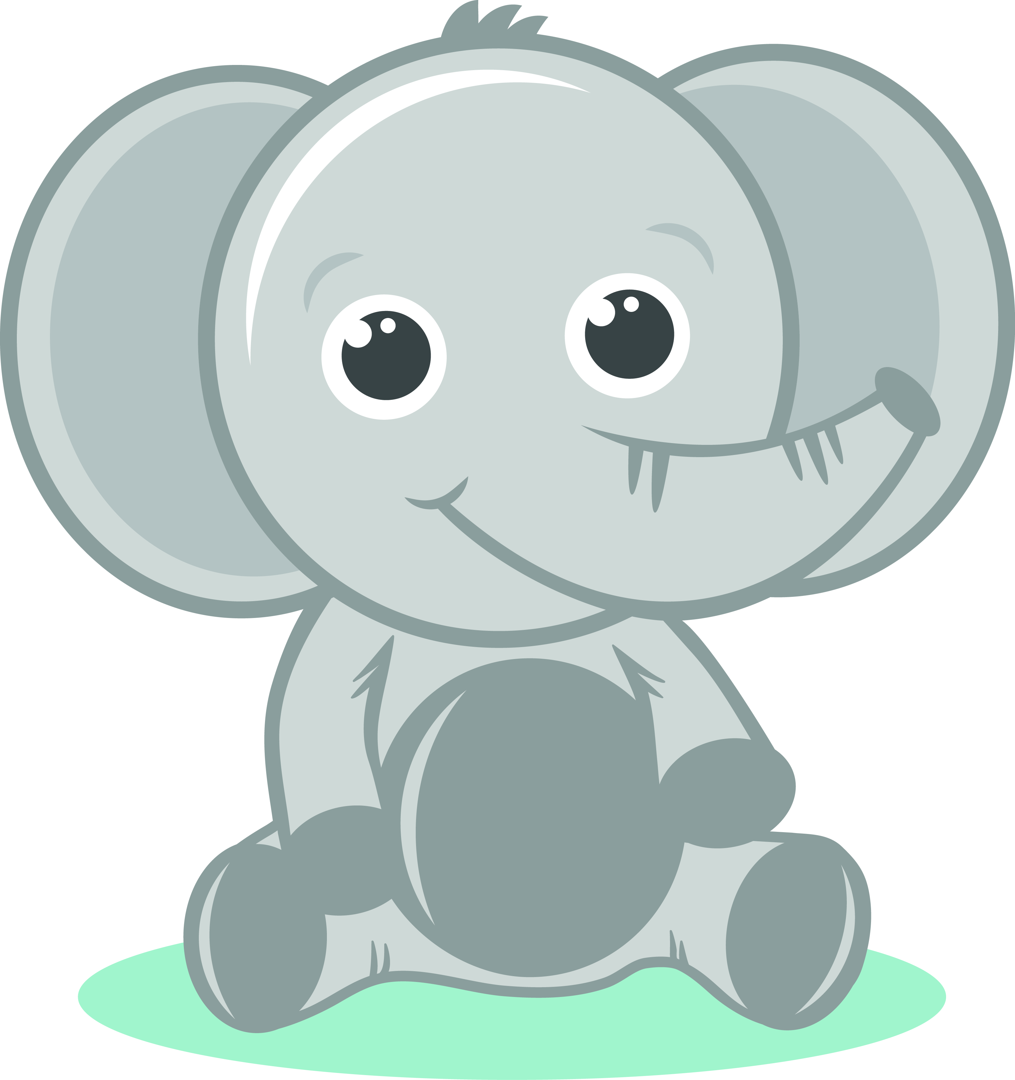 Elephant clip art transparent background. Gray baby png images