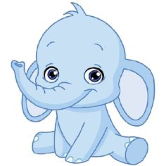 Elephant clip art transparent background. Funny baby images all