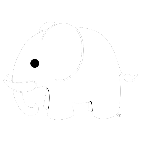 Elephant clip art transparent background. White png mart
