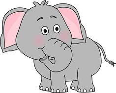 Cute serie ghostcemeterybw cartoon. Elephant clip art banner black and white download