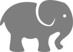 Filigree clipart elephant. Free