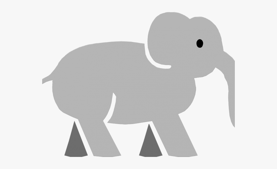 Elephant tail. Clipart indian cliparts cartoons
