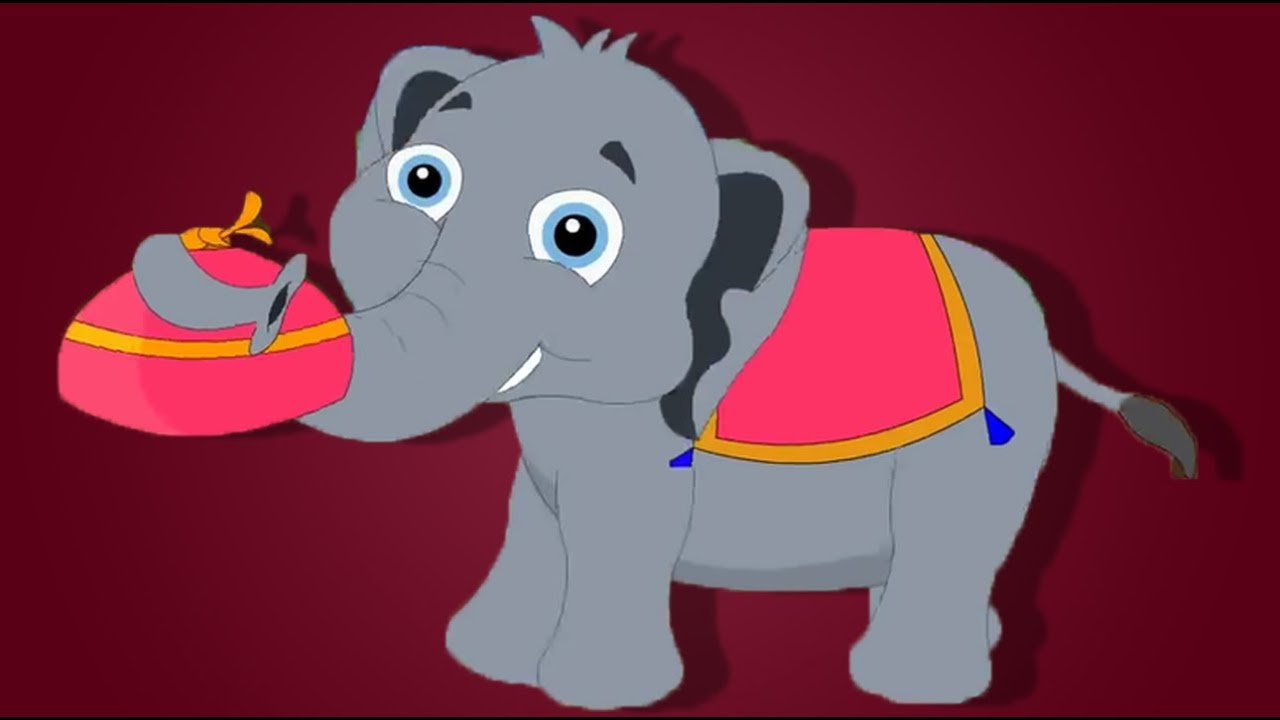 Elephant withers. Nellie the song children