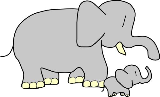 Elephants svg grey baby. Elephant clipart i royalty