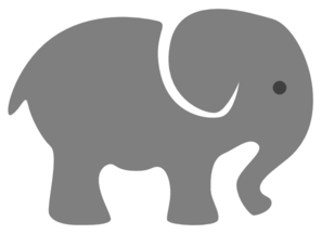 Elephants svg grey baby. Elephant clip art at