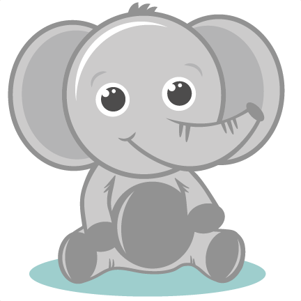 Elephants svg grey baby. Elepahnt cutting files elephant