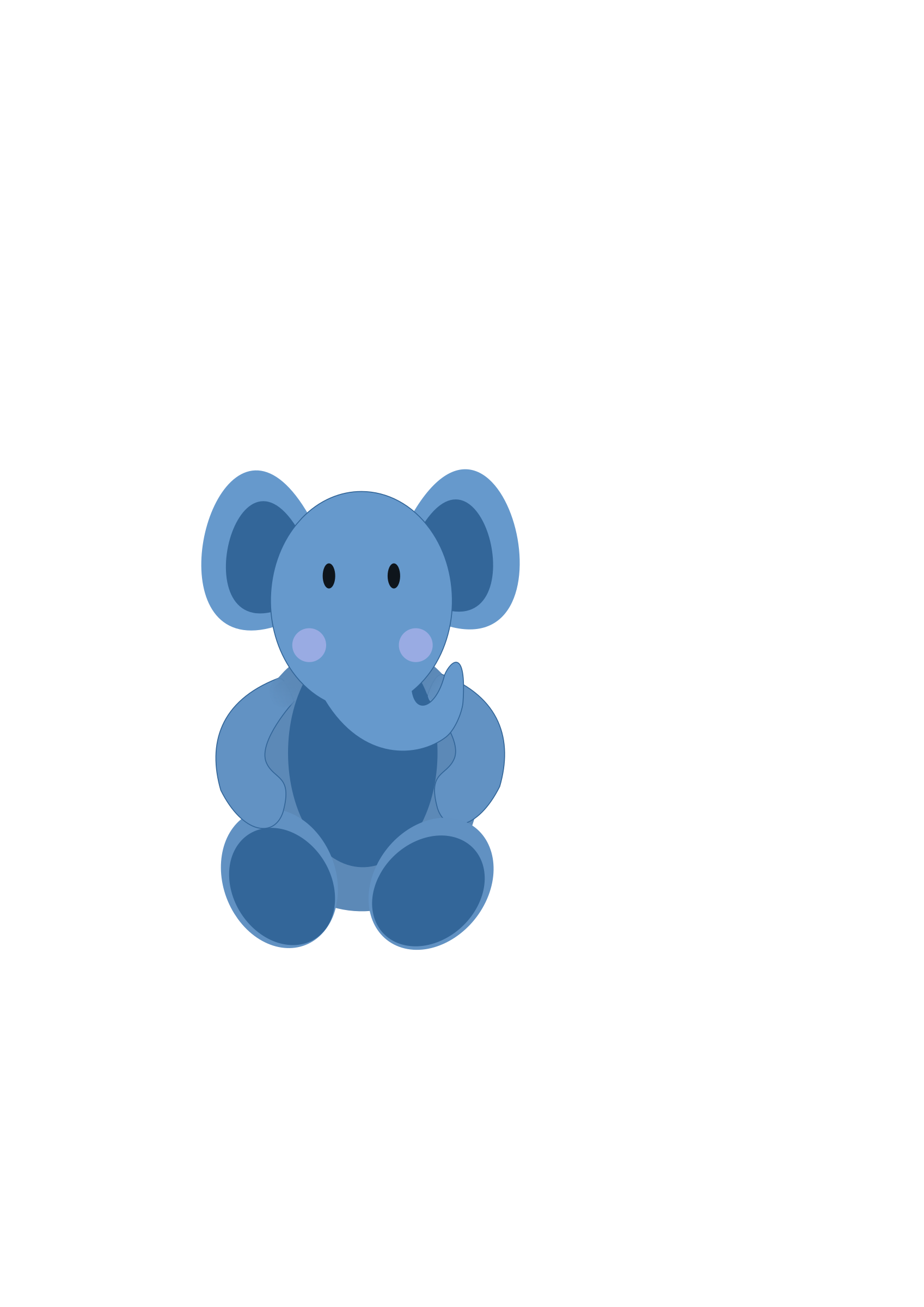 Elephants svg grey baby. Clipart elephant big image