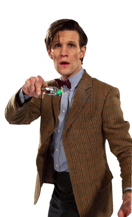 Eleventh doctor png. By psycho biedron on