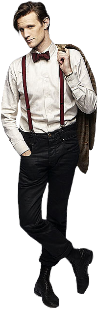 Eleventh doctor png. Transparent by thatssosketchy on