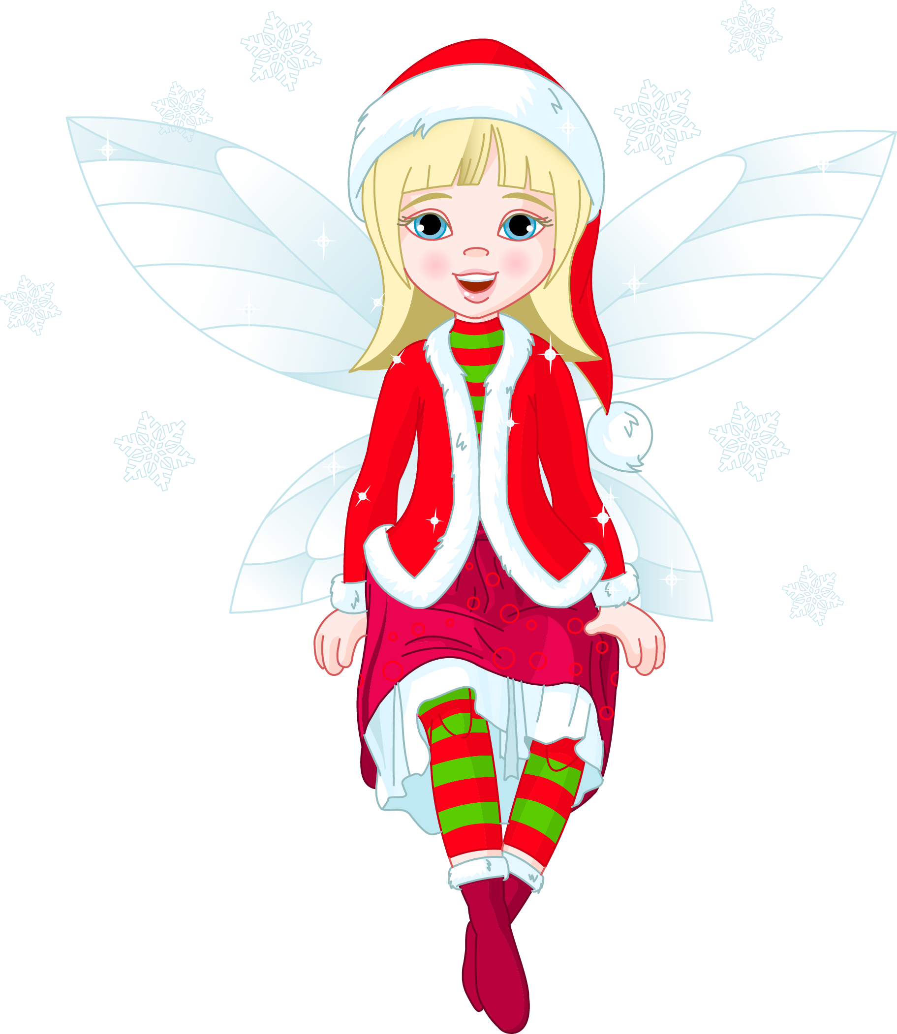 Elf clipart female. Transparent christmas png gallery