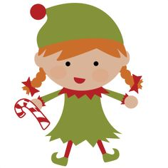elf clipart cut out