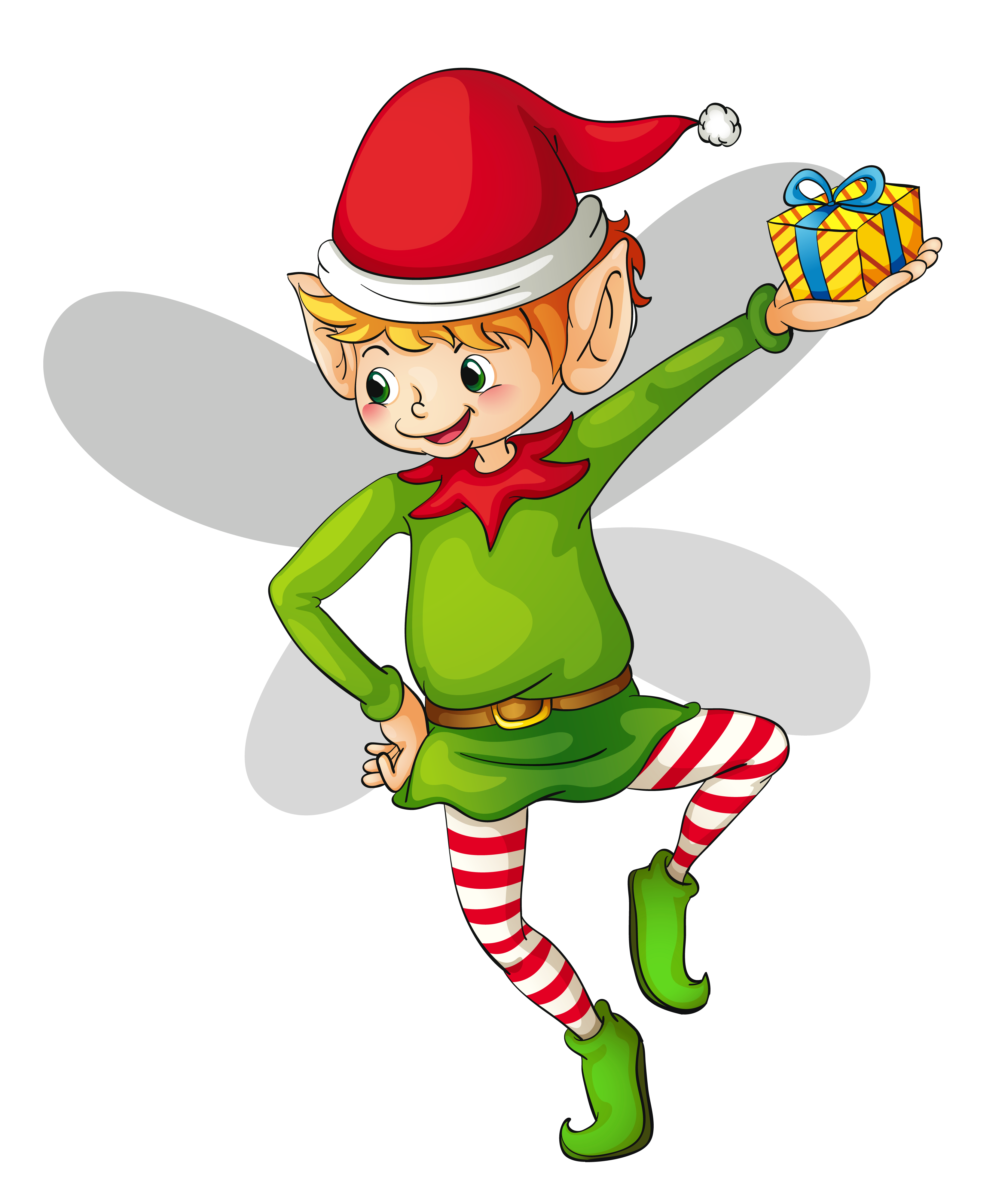 Elf clipart dancing. Christmas cute gallery yopriceville
